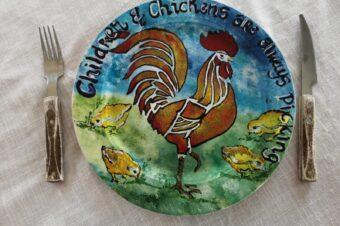 Children & Chickens are always picking