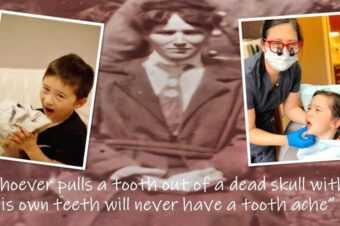 """Whoever pulls a tooth out of """"a dead skull"""" with his own teeth will never have a toothache"""